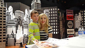 Back to school expo albany ny peyton list emma from the hit show jessie making an appearance at the 2014 back to school expo m4hsunfo